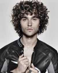 trends long curly hairstyles for men