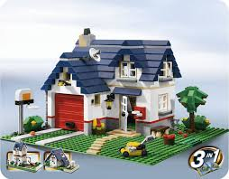Lego House Plans Exceptional Small Family House Plans 2 Lego Creator Apple Tree