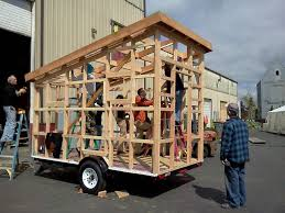 tiny house workshop. Casa Pequena Tiny House Building Workshop, Portland Alternative Dwellings Workshop I