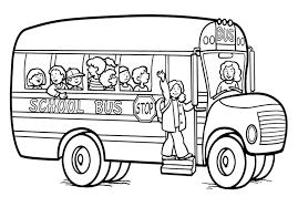 Coloriage Bus Gratuit Voir Le Dessinl L