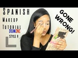 spanish makeup tutorial dominican style