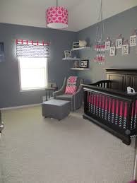 20 Cute Nursery Decorating Ideas | Hot pink, Nursery and Navy blue