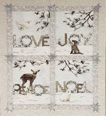 Yellow Creek Designs Love Joy Peace Noel Kit Yellow Creek Quilt Designs Love