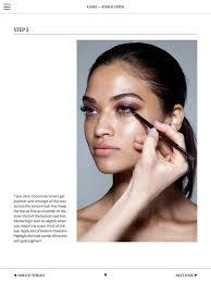 rae morris makeup mastercl 4
