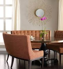 44 Best Dining Room Ideas Images On Pinterest  Dining Room Curved Bench Dining