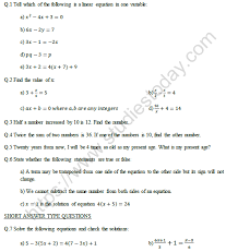 hots questions on linear equations in