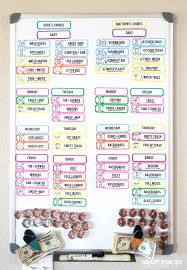 Make A Chore List Free Diy Chore Chart Printable The Last Chore Chart Youll