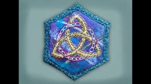 Celtic Knot Embroidery Designs How To Embroider A Goldwork Celtic Knot