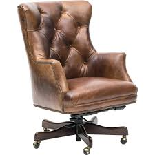 brown leather office chair desk uk executive canada