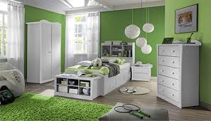 Elegant Bedroom Ideas For Teenage Girls With Green Colors Theme And