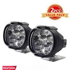 2pcs 1000lm super bright 5700 6200k 6 led motorcycle headlight bulb work head light fog