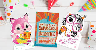 Online Birthday Cards For Kids American Greetings Online Cards What To Write In A Kids Birthday