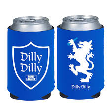 Bud Light Aluminum Bottles 20 Pack Price Amazon Com Dilly Dilly Bud Light Beer Can Coolie 2 Pack