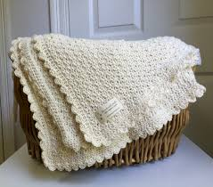 Crochet Patterns For Baby Blankets Beauteous Baby Blanket Crochet Pattern by Little Monkeys Designs