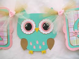 Turquoise Baby Shower Decorations Baby Owl Baby Shower To Hang For Decorations Pictures To Pin On