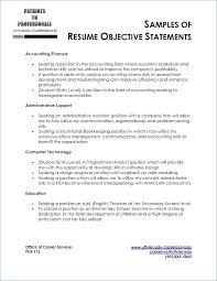 Entry Level Resume Objective Amazing Sample Resume Objectives For Entry Level Exitalturarealtyus