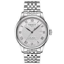 tissot watches quality swiss watches ernest jones watches tissot le locle men s stainless steel bracelet watch product number 6148263