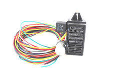race car in car parts wiring harness arc eazy 8 circuit mini fuse box suit rat rod race car