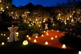 ou photo in outdoor wedding lighting decoration ideas