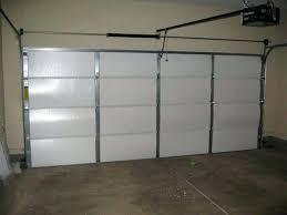 insulating a garage door picture of step 3 finish it up insulating garage door diy