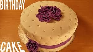 Birthday Cake Decorating Birthday Fondant Cake Decorating How To