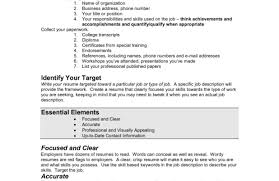 Targeted Resume Template Example Of Targeted Resume Examples Resumes Template Images Horsh 11