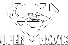 seahawks coloring page gallery of creative idea free printable
