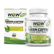 Wow Green Coffee Bean Extract Capsules Health Supplements