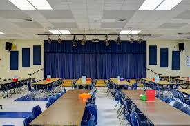 school cafeteria acoustic panels