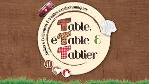 Table étable Tablier
