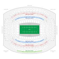 Comerica Park Seating Chart By Rows Houston Texans Suite Rentals Nrg Stadium Throughout The