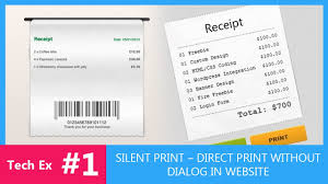 Html Print Preview Design Tech Tutorial 1 Silent Print Or Print Without Dialog Box In Firefox Chrome Tech Ex