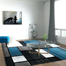 contemporary area rugs 10 x 12 8 rug furniture by charming modern boxes blue grey