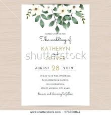 wedding invite template download wedding invitation card template save date stock vector format free