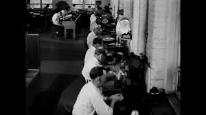 1930 Designers 1930 Designers Sketch And Use Wax And Plaster To Create Silverware In A Factory Stock Video Footage Storyblocks Video