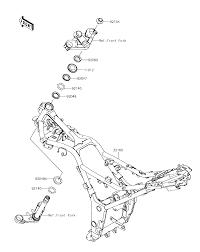 2017 kawasaki ninja 300 ex300ahf frame parts best oem frame parts diagram for 2017 ninja 300 ex300ahf motorcycles