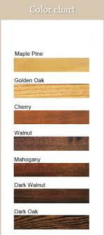 Howard Restor A Finish Color Chart Best Picture Of Chart