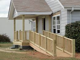 Handicap Ramp And Porch Done Along With Paint And New Windows