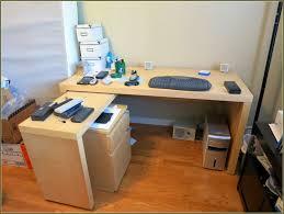 ikea desk with file cabinet