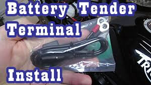 battery tender ring terminal harness install battery tender ring terminal harness install