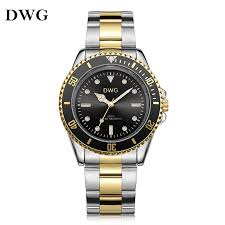 compare prices on accurate quartz watches online shopping buy low dwg 3 colors accurated waterproof men s quartz watch metal band watch analog elegant wrist watches