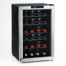 wine enthusiast silent  bottle wine refrigerator (stainless