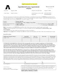 Apartment Rental Agreement Sample Best Photos Of Sample Rental Lease Agreement Sample Rental Lease 8