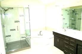 corner shower kits small bathrooms stall enclosures stalls showers the home depot iii in x drop