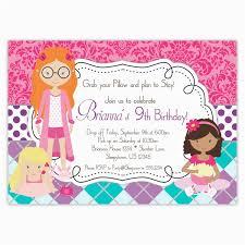 Free Printable Slumber Party Birthday Invitations Birthdaybuzz