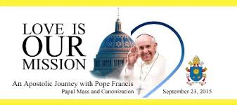 Image result for Welcome Pope Francis to the US