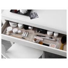 ikea malm dressing table smooth running drawer with pull out stop