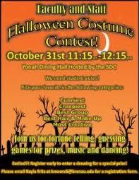 Halloween Costume Contest Monday Oct 31 Brenau Update
