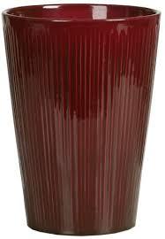 Красивое <b>керамическое кашпо</b> для орхидей ScheuRich <b>dark red</b> ...