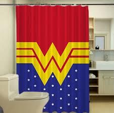 details about luxury wonder woman super girl best quality custom shower curtain 60 x 72